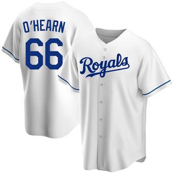 Men's Ryan O'Hearn Kansas City White Replica Home Baseball Jersey (Unsigned No Brands/Logos)