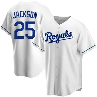 Youth Danny Jackson Kansas City White Replica Home Baseball Jersey (Unsigned No Brands/Logos)